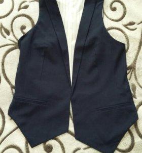 Жилет под блузу