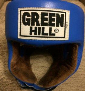 Шлем Green Hill с эмбл. AIBA
