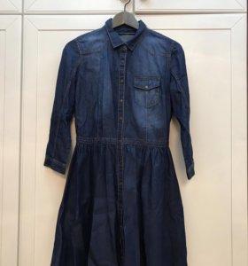 Платье новое джинсовое