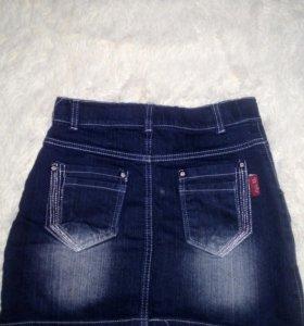 Юбка джинсовая(новая).