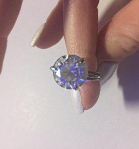 Кольцо серебряное р-р 16