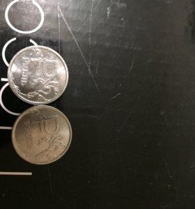 Монета с графическим рублем 2014 года