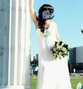 Свадебное платье в стиле Ампир.
