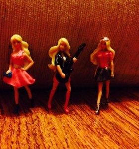 Киндер-игрушки Барби.