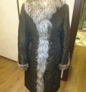 Новое зимнее пальто (пихора)
