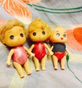 Куколки-гимнастки.