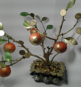 Мандариновое дерево (талисман на богатство)