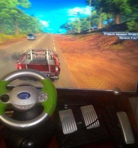 Руль для компьютерных игр и на PlayStaition