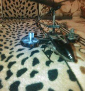 Вертолет на упровлении