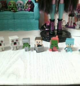 Коллекционные фигурки Minecraft