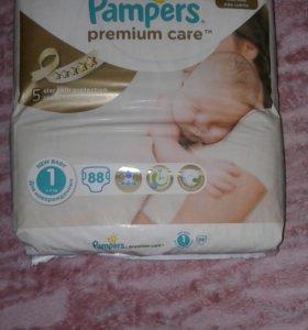 Памперсы premium care