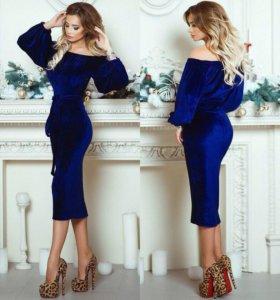 Шикарное платье в 3х цветах