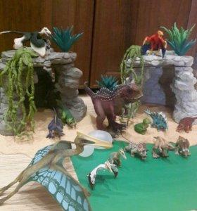 """Игровой набор """"Пещера динозавров"""" Schleich"""