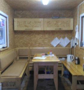 Вагончик домик садовый с мебелью 11.7м2