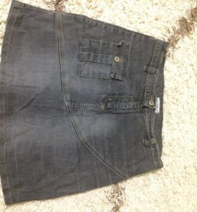 Юбка джинсовая!