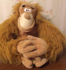 Мягкая игрушка обезьяна
