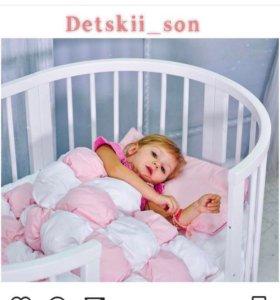 Кровать трансформер и постельное белье скидки