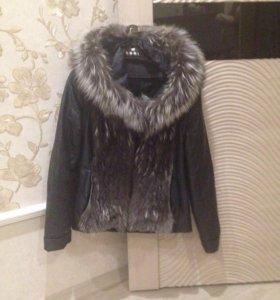 Продам натуральную куртку- трансформер. Срочно