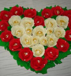 Подарок необычный, сладкий на 14 февраля
