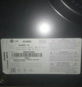 Телевизор LG с 3d и выход в интернет
