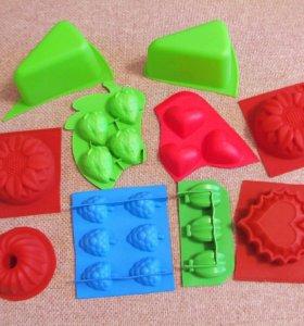 Формочки и штампы для мыла и бомбочек для ванны