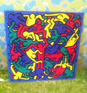 Картина (репродукция) Keith Haring