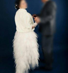 Шубка свадебная!