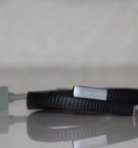 НОВЫЙ фитнес-браслет Jawbone Up 24 Onyx M черный