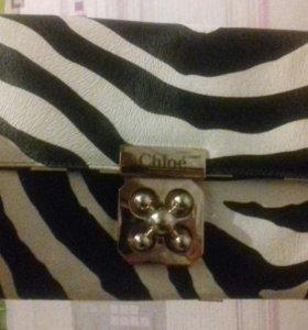 Продам новый клатч Chloè