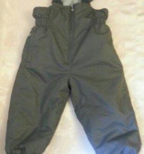 Детские штаны (брюки) на лямках Reike со штрипками