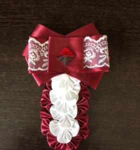 Галстук на блузку