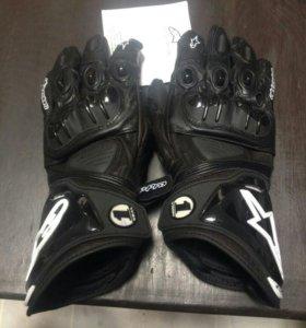 Мото перчатки Alpinestars мотоперчатки кожаные
