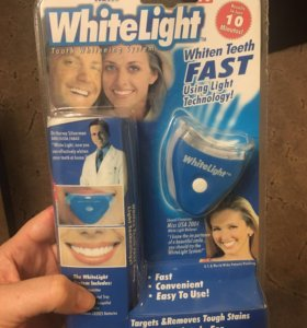 Аппарат и гель для отбеливания зубов