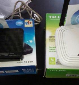Продам wi-fi роутер tp-link и приставку tp-link