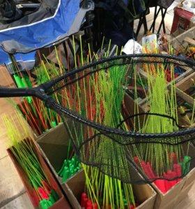 Подсак для рыбы 450х300 мм подсачек, сачёк