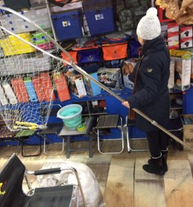 Подсак для рыбы 2650х700 мм подсачек, сачёк