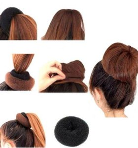 Бублик для волос новый