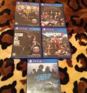 PS4 игры на обмен