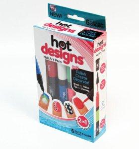 Лот √567 Набор лаков-маркеров для дизайна ногтей