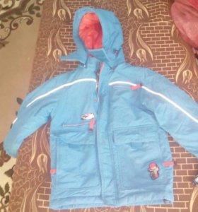 Куртка весна осень,на мальчика лет 6-7 лет