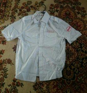 Жд рубашка с коротким рукавом