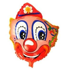 Клоун фольгированный
