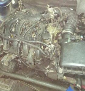 Двигатель на ваз 1,6 16кл