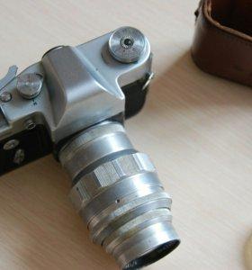 Объектив Юпитер 11, фотоаппарат Зенит 3М