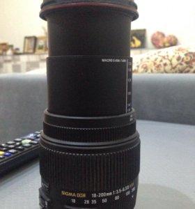 Фото объектив SIGMA для Nikon