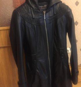 Куртка эко кожа 46р