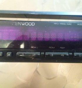 Kenwood  kdc-404U панель.