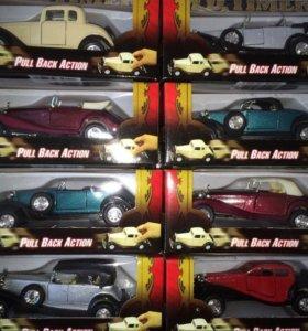 Машинки коллекционные-ретро