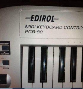 Editor midi keyboard controller PCR-80