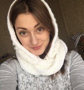 Капюшон-шарф снуд